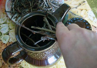Чай из веток смородины